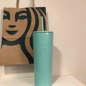 Starbucks Tiffany Blue Tumbler